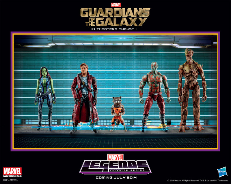 Hasbro Guardians of the Galaxy Marvel Infinite Legends teaser poster