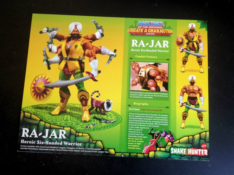 Masters of the Universe Classics Ra-Jar 3