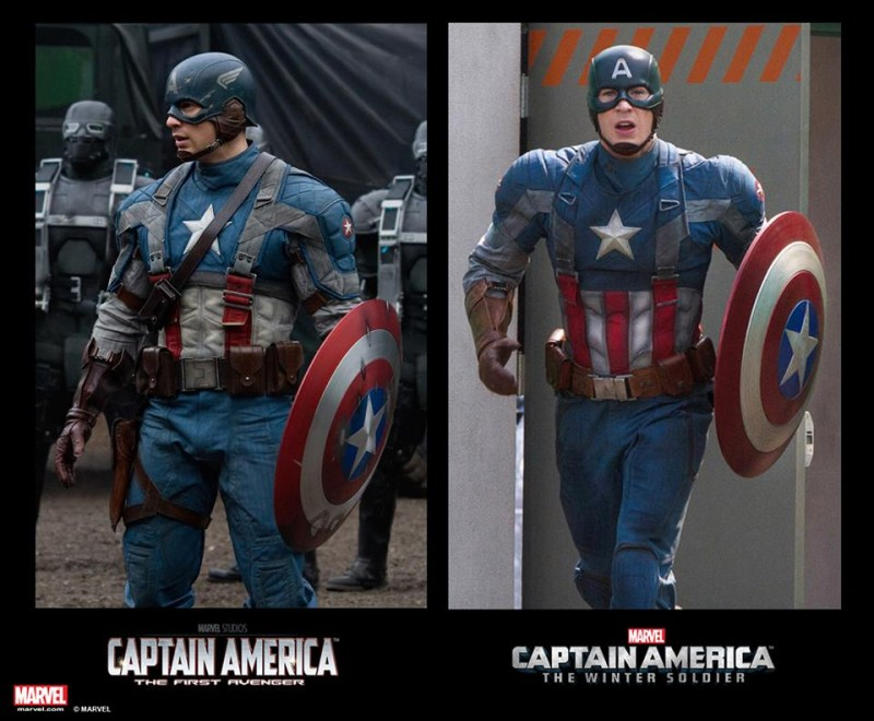 Spot the Difference - Captain America - First Avenger and Winter Soldier