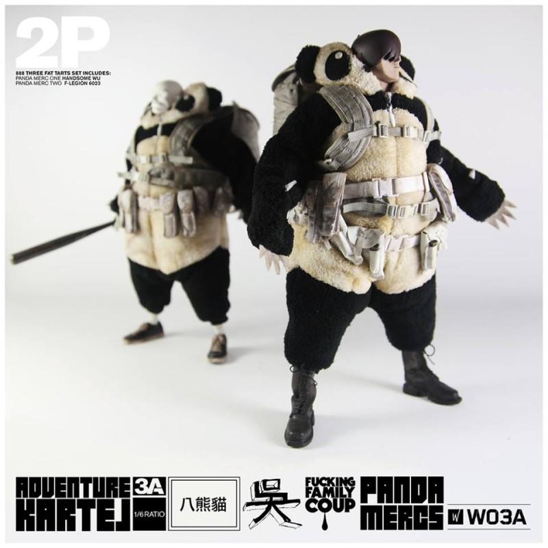 3A Toys Adventure Kartel Panda Mercs 1