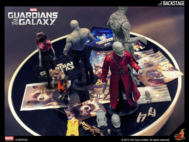 Hot Toys Guardians of the Galaxy Backstage Pass teaser