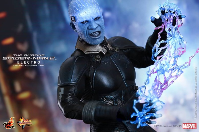 Hot Toys The Amazing Spider-Man 2 Electro 01