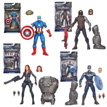 Marvel Legends Infinite Series - Captain America wave 2.1
