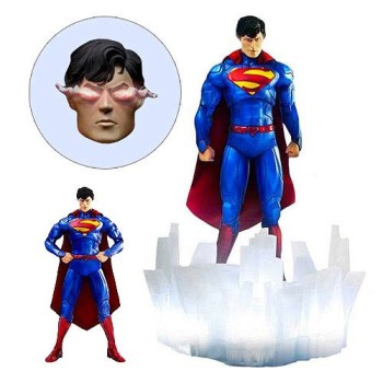 New 52 Jim Lee Super Man Super Alloy Action Figure