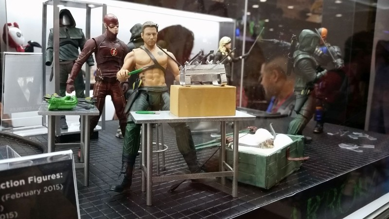 SDCC 2014 DC Collectibles Arrow