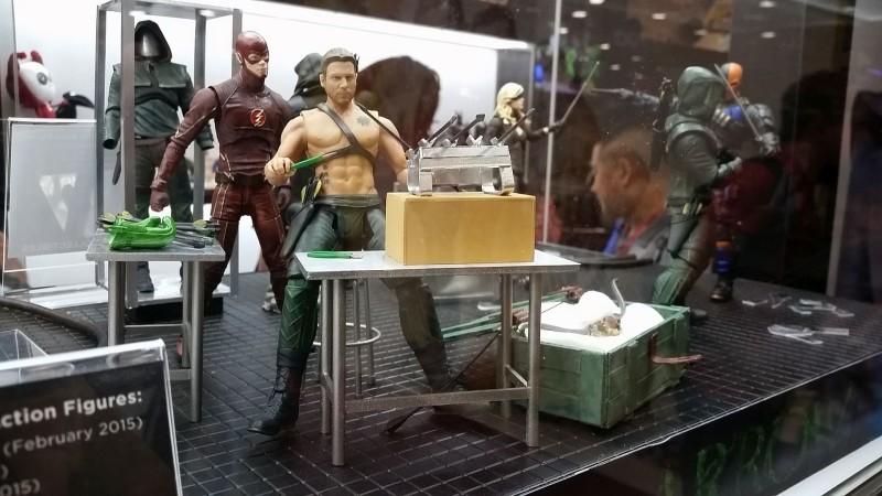 SDCC 2014 DC Collectibles Arrow