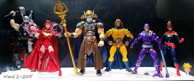 SDCC 2014 Hasbro Marvel Legends Avengers 2015