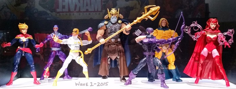 SDCC 2014 Hasbro Marvel Legends Avengers 2015 (Saturday)