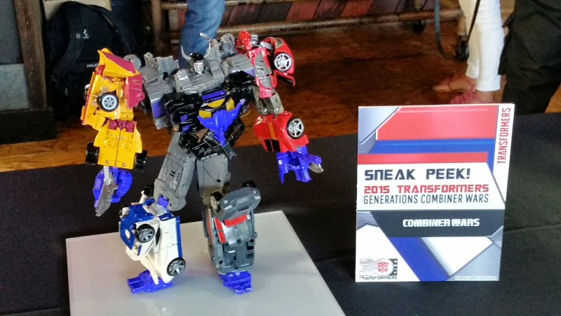 SDCC 2014 Hasbro Transformers Generations Combiner Wars 2015 Sneak Peek