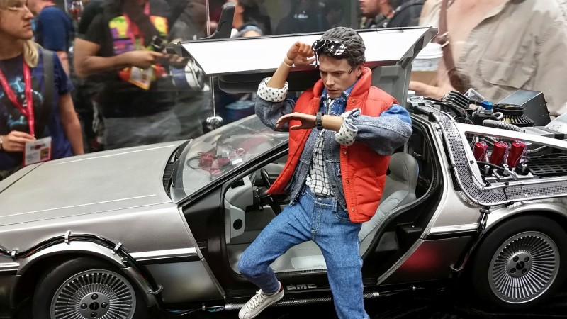 SDCC 2014 Hot Toys Back to the Future
