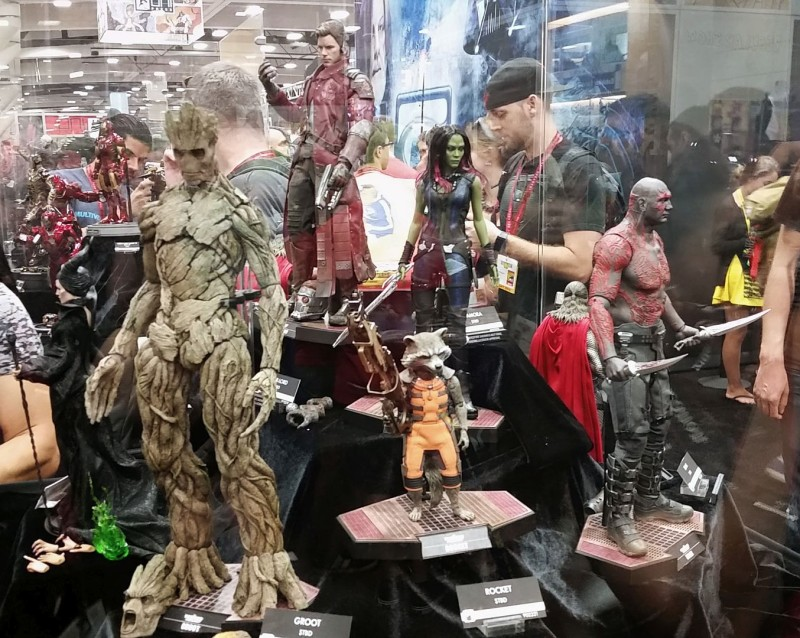 SDCC 2014 Hot Toys Guardians of the Galaxy