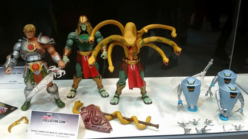 SDCC 2014 Masters of the Universe Classics He-Man Hsss Robots