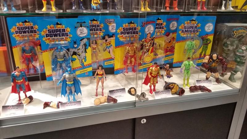 SDCC 2014 Mattel DC