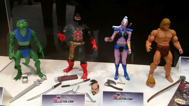 SDCC 2014 Mattel Masters of the Universe Classics 2015