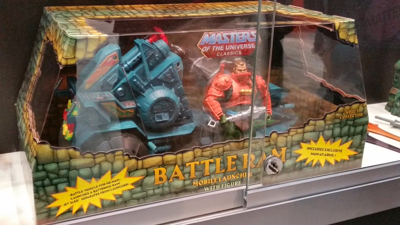 SDCC 2014 Mattel Masters of the Universe Classics Battle Ram