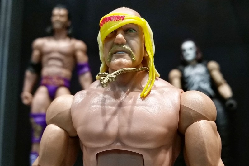SDCC 2014 Mattel WWE Defining Moments Hulk Hogan