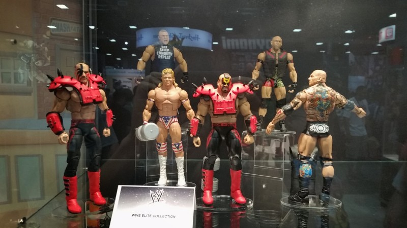 SDCC 2014 Mattel WWE Elite
