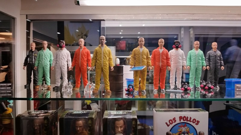 SDCC 2014 Mezco Breaking Bad