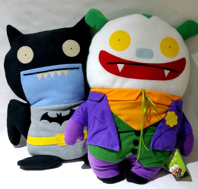 Uglydoll x DC Comics Batman and Joker