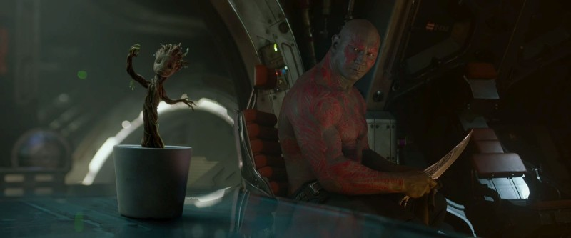 Guardians of the Galaxy - Groot and Drax