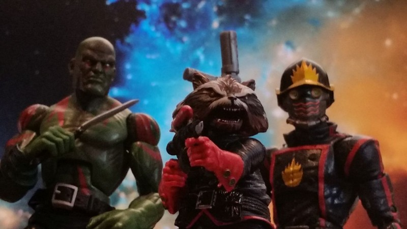 Marvel Legends Drax Rocket Raccoon Star-Lord