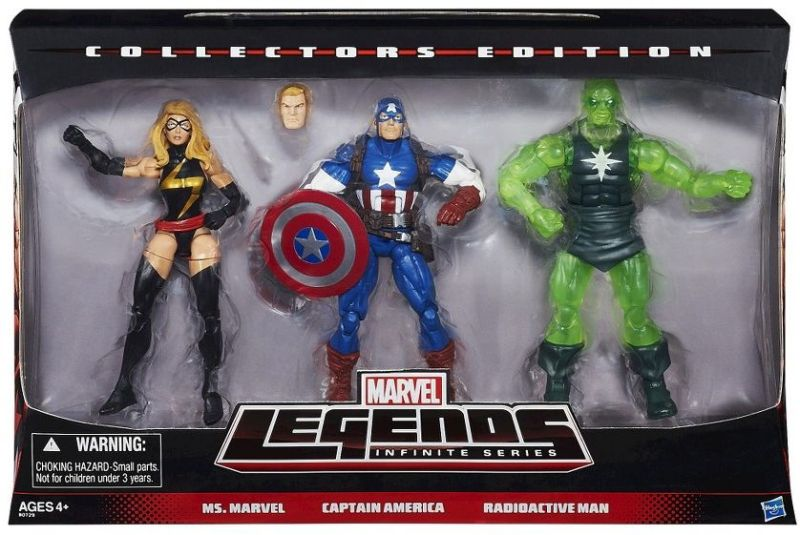 Captain America® Marvel Legends Infinite Series Figure 3-Pack 02