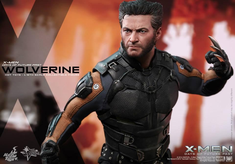 X Men Days Of Future Past Action Figures Hot Toys Announces Wol...