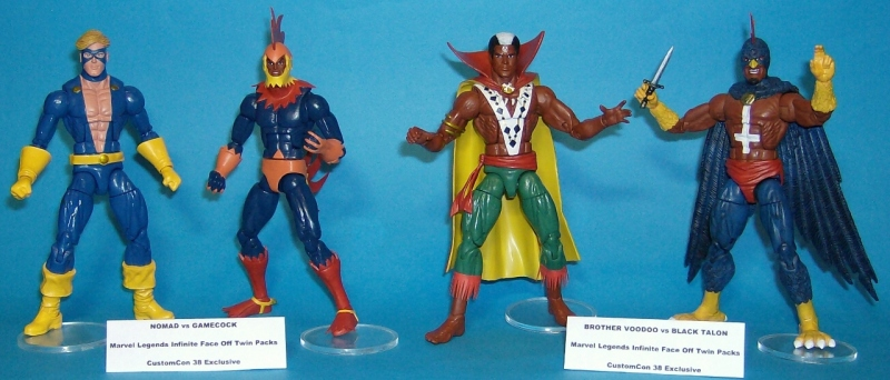 Marvel Legends Infinite Face Off Twin Packs