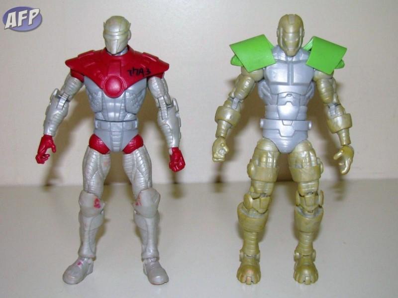 Marvel Legends Crimson Dynamo Titanium Man test shots