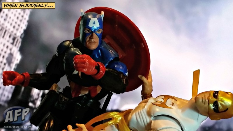 Marvel Legends Bucky Cap vs. Iron Fist