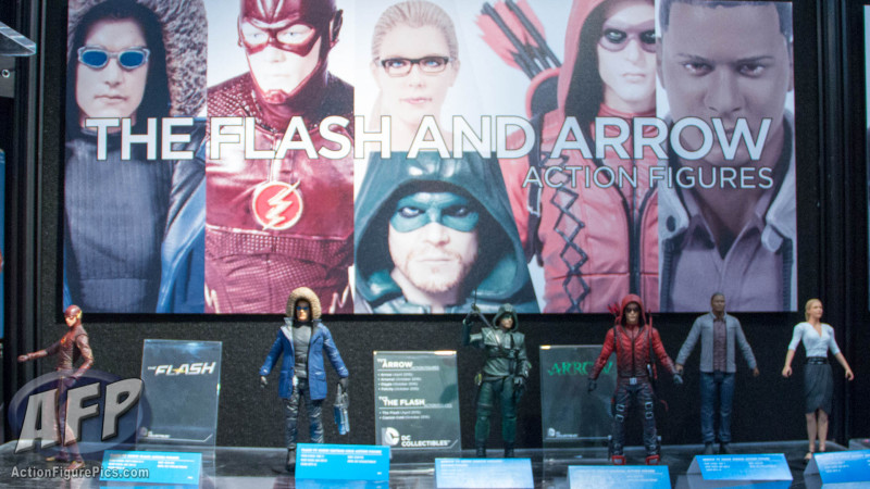 Toy Fair 2015 DC Collectibles Flash and Arrow (1 of 8)