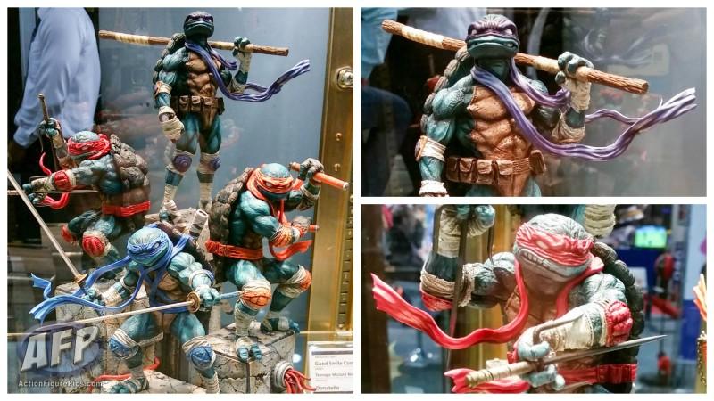 Toy Fair 2015 - Good Smile TMNT statues