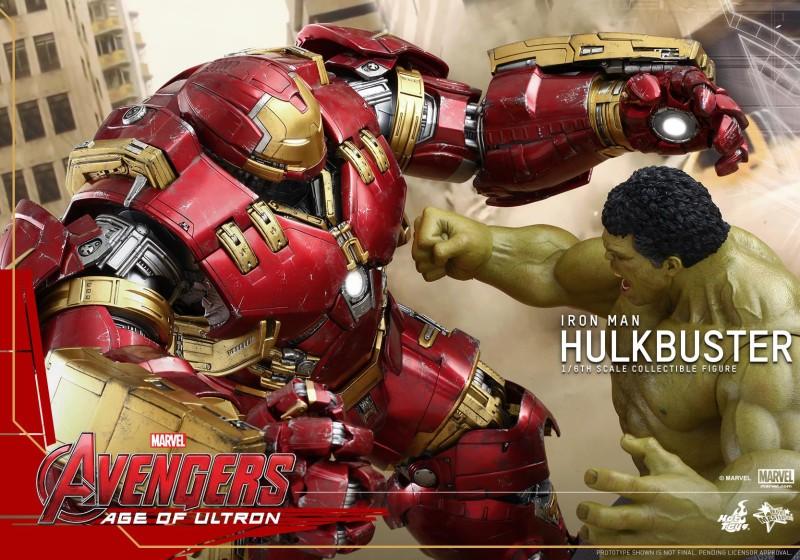 Hot Toys Avengers 2 Age of Ultron - Hulkbuster Iron Man 18