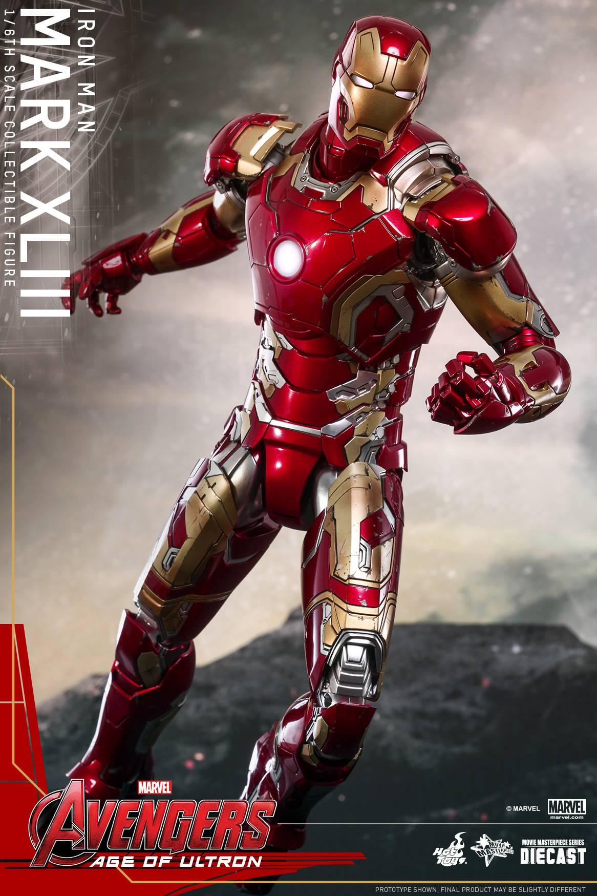 Hot Toys Avengers 2 Age of Ultron - Iron Man Mark XLIII 17 ...