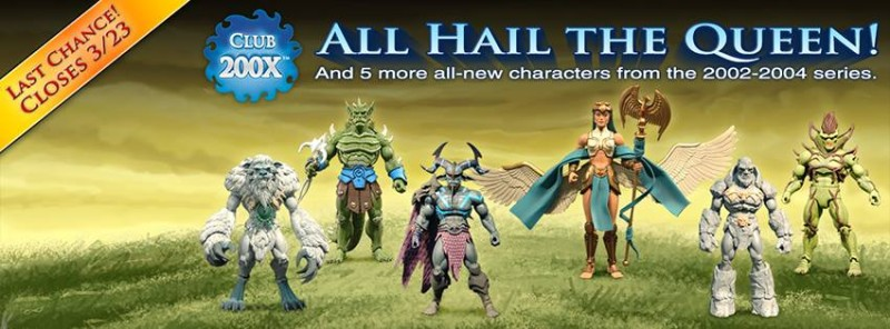 Masters of the Universe Classics Club 200X - Last Chance March 23