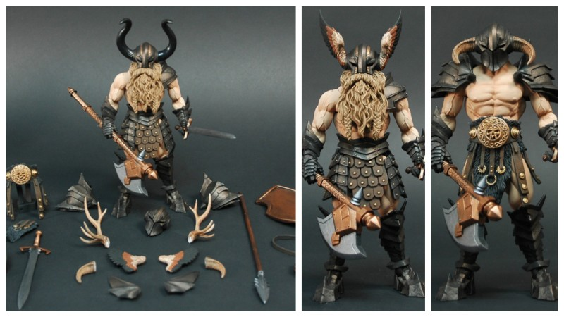 Mythic Legions Barbarian Builder Set