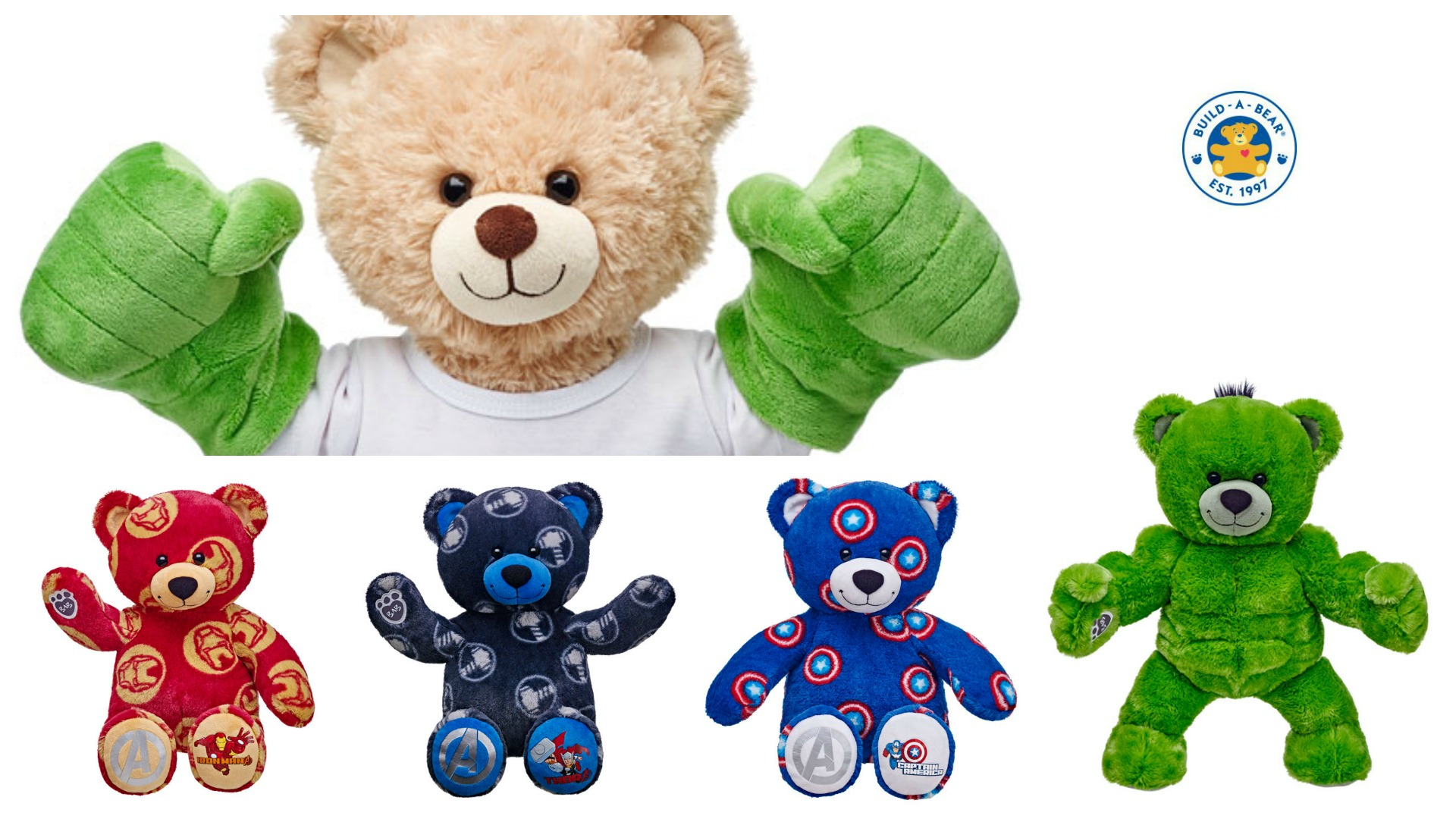 Build A Bear America Home Page