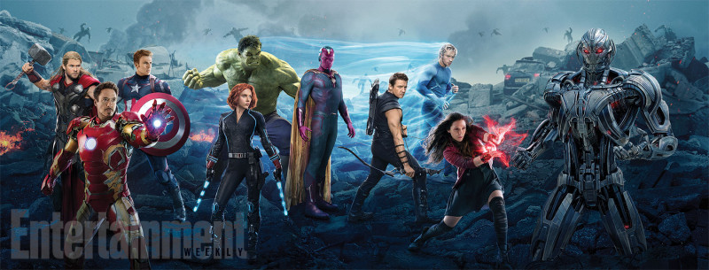 Entertainment Weekly Summer Movie Preview Age of Ultron - covers combined 1