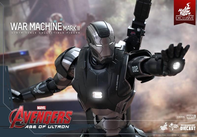 Hot Toys Avengers Age of Ultron War Machine Mark II 01