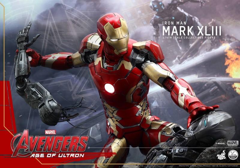 Hot Toys Quarter Scale Avengers Age of Ultron Iron Man Mark XLIII 01