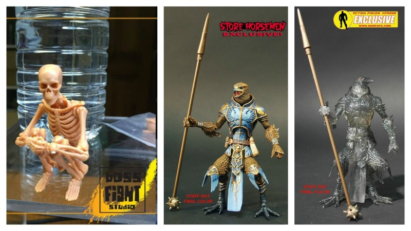 Kickstarter Monday - Boss Fight Studio Skeleton and Four Horsemen Raven Variants