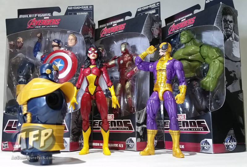 Marvel Legends Thanos wave group shot (1 of 8)
