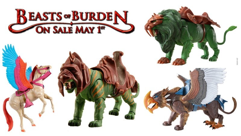 Mattycollector MOTUC Beasts of Burden sale