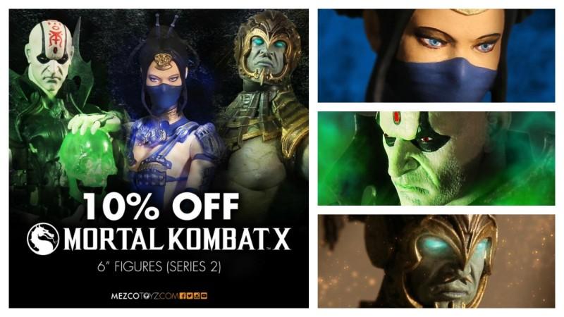 Mezco Mortal Kombat X Series 2 pre-order sale