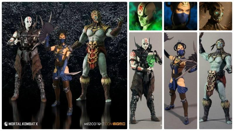 Mezco Mortal Kombat X Series 2 reveals