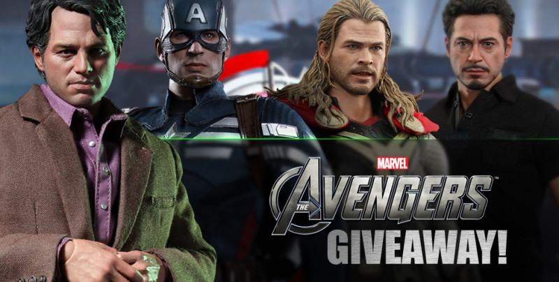 Sideshow Hot Toys Avengers giveaway