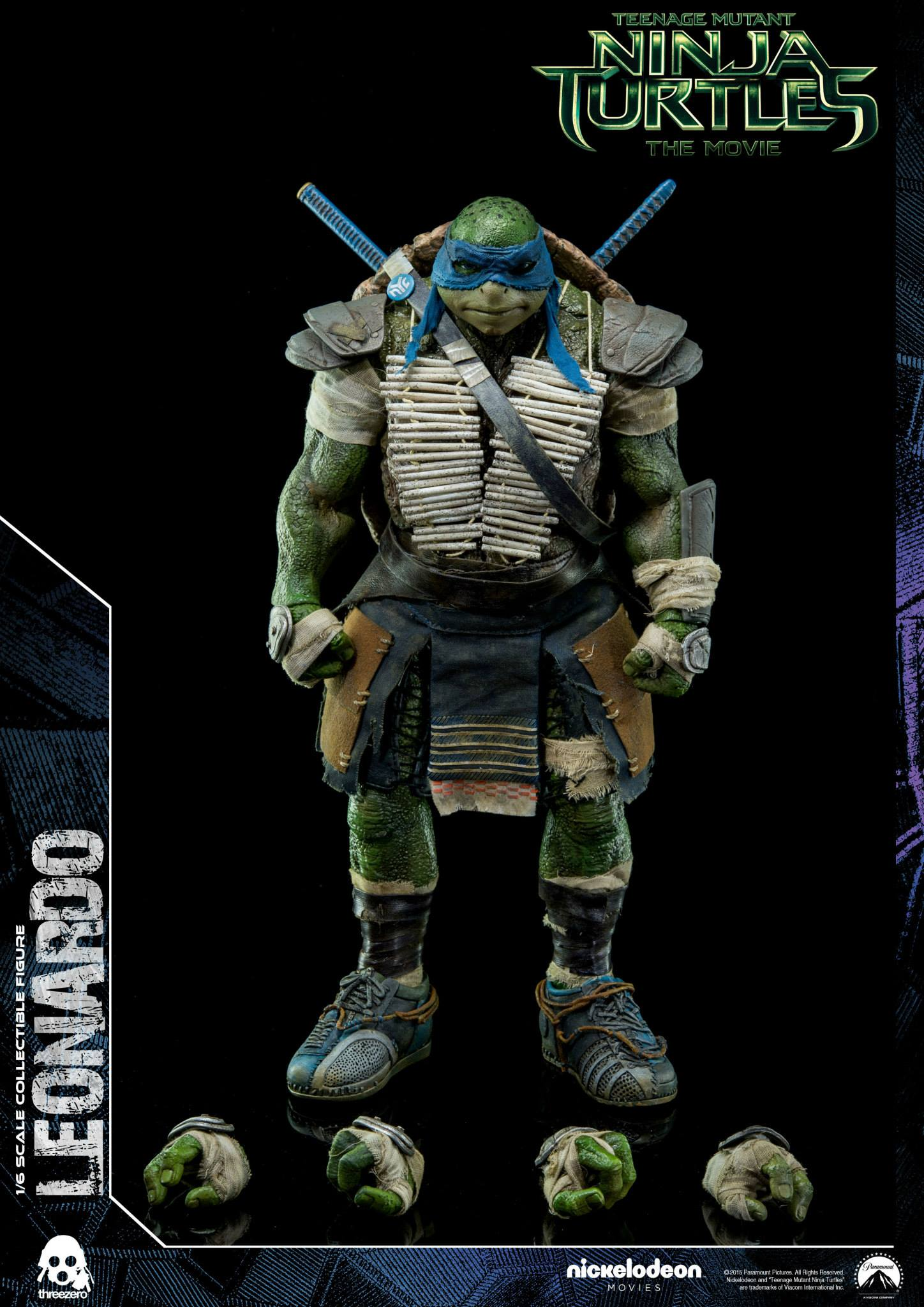 Threezero Announces 1/6 Scale Teenage Mutant Ninja Turtles ...