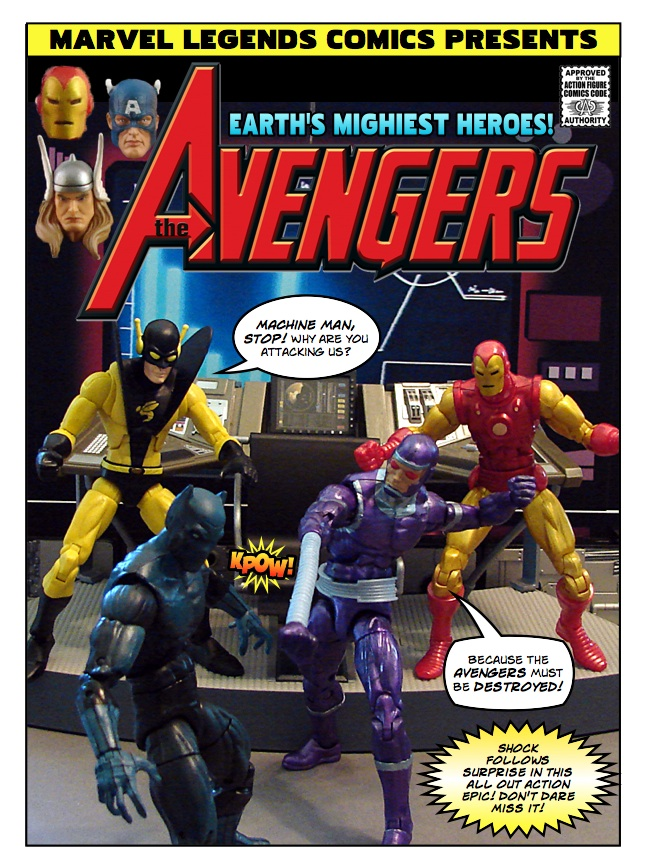 Avengers - Ghost in the Machine Man