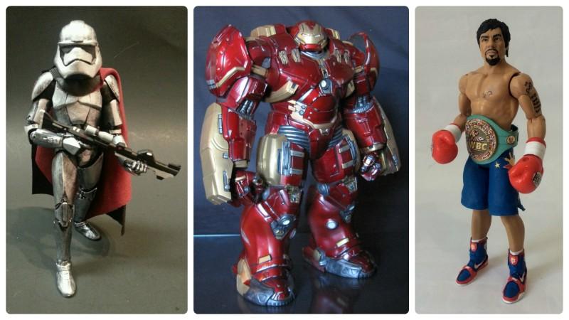 Border Patrol - Chrome Trooper, Hulkbuster Iron Man, Manny Pacquiao