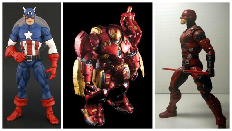 Border Patrol - Marvel Legends Captain America, Hulkbuster Iron Man, and Netflix Daredevil